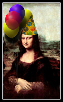 Mona Lisa Birthday Girl von gravityx9
