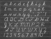 The Cursive Alphabet by aremak