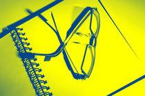 Eyeglasses on a Notebook by aremak