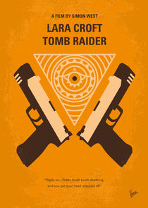 No209-my-lara-croft-tomb-raider-minimal-movie-poster