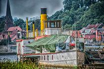 Wheel Steamer on the Elbe von fraenks