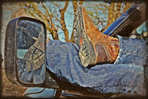 Reflections of a Cowboy's Nap von Mary Spain