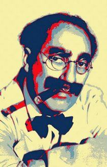 Groucho Marx von Art Cinema Gallery