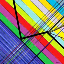 Diagonal Color by eloiseart