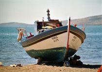 Fischerboot, Lesvos, Griechenland by Aris Grigoriou