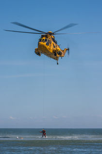 Sea King Rescue Helicopter von P M