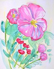 Pink Poppies von Christine Chase Cooper