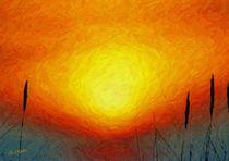 Poesie des Lichts - Sonnenglut von Eckhard Röder