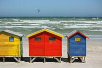 southafrica ... muizenberg beach huts I von meleah