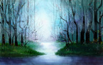 Digitally Charged Woods by Rebecca Swenson