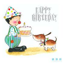Happy Birthday Mister Dog von sarah-emmanuelle-burg