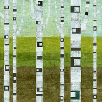 Summer Birches von Michelle Calkins