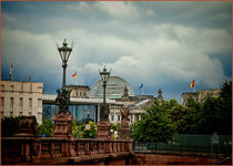 Dramatic sky over the capital by Oliver Heisler