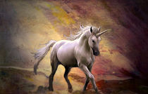 Unicorn on the rise by Marie Luise Strohmenger