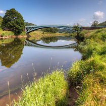 The River Wye at Bigsweir by David Tinsley