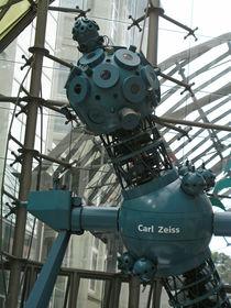 Carl-Zeiss-Skulptur in Jena, Thüringen von Eva-Maria Di Bella