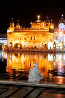 The Golden Temple in Amritsar. by Tom Hanslien
