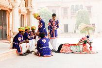 'Street Performers, Jaipur.' by Tom Hanslien