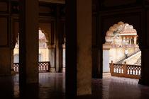 Galta (The Monkey Temple), Jaipur. by Tom Hanslien