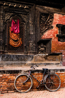 Durbar Square in Bhaktapur. von Tom Hanslien