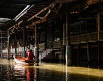 The Damnoen Saduak Floating Market. by Tom Hanslien