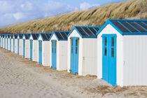 Strandhütten auf Texel by Michael Vetter