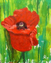 Red Poppy von Rena Rady