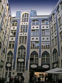 Berlin - Fassade der Hackeschen Höfe von Eva-Maria Di Bella