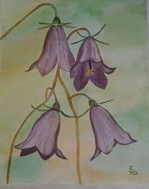 Blaue Glockenblümchen von Rena Rady
