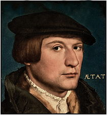 HOLBEIN.PORTRAIT OF YOUNG MAN by Maks Erlikh