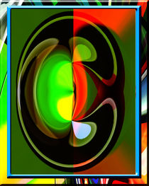 Special Composition In Abstract Colors von Boi K' BOI
