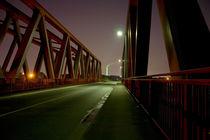 Brücke in Duisburg bei Nacht von augenblicke