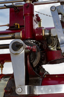 Bracket on a steam engine by Christopher Kelly