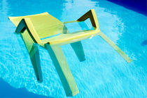 A cool Chair in Water by 7horses