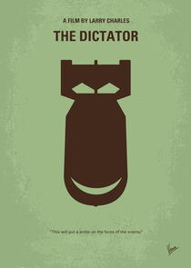 No212-my-the-dictator-minimal-movie-poster