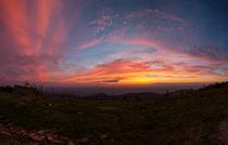 Sonnenuntergang auf der Hornisgrinde von Walter Layher