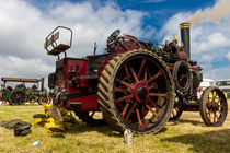 A traction engine by Christopher Kelly