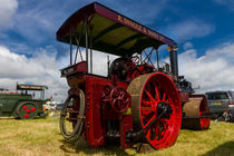 Road locomotive  by Christopher Kelly