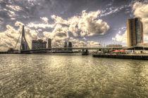Bridge over Rotterdam  by Rob Hawkins
