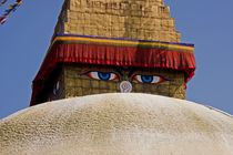Stupa Kathmandu Nepal by RS Photo