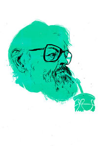 Julio Cortázar von Linus Nyström