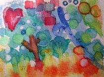 Zauberwald abstrakt von pemalilly