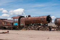 Train Cemetery, Salar de Uyuni part 17 by Steffen Klemz