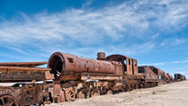 Train Cemetery, Salar de Uyuni part 15 by Steffen Klemz