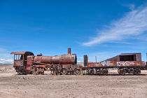 Train Cemetery, Salar de Uyuni part 1 by Steffen Klemz