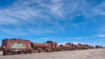 Train Cemetery, Salar de Uyuni part 10 by Steffen Klemz