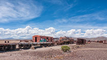 Train Cemetery, Salar de Uyuni part 6 by Steffen Klemz