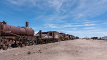 Train Cemetery, Salar de Uyuni part 3 by Steffen Klemz