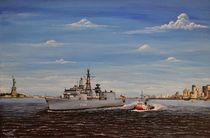 'Fregatte Niedersachsen' by Peter Schmidt