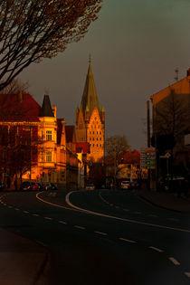 Paderborn, Abendstrasse von Wladimir Zarew
